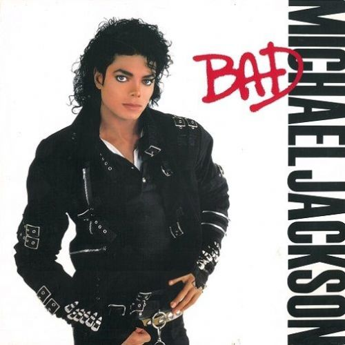 MICHAEL JACKSON Bad Vinyl Record LP US Epic 1987